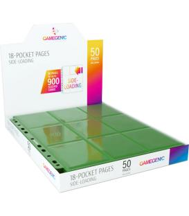 Gamegenic: Sideloading 18-Pocket Pages Display (Verde) (50)