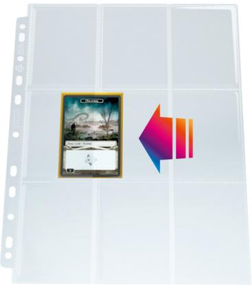 Gamegenic: Ultrasonic 9-Pocket Pages Side-Loading Display (50)