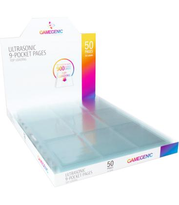 Gamegenic: Ultrasonic 9-Pocket Pages Top-Loading Display (50)