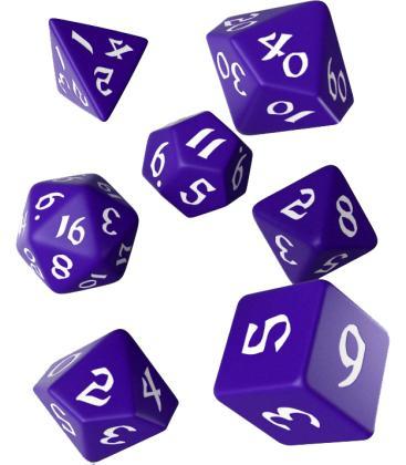 Q-Workshop: Classic Runic (Purple & White)