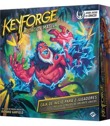 Keyforge: Mutación Masiva - Caja de Inicio (+Mazo Regalo)