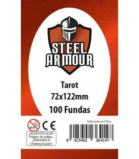 Fundas Steel Armour (70x120mm) Tarot (100) - Exterior 72x122mm