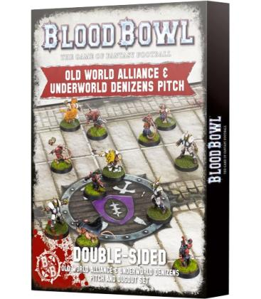 Blood Bowl: Old World Alliance & Underworld Denizens (Pitch & Dugout Set)