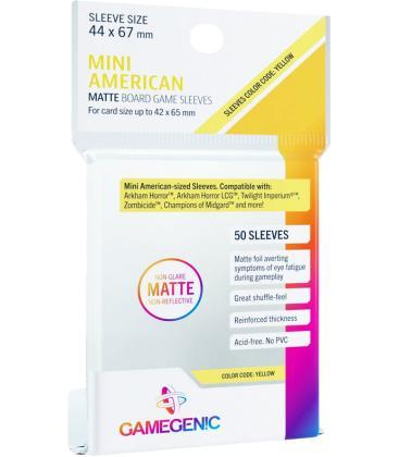 Gamegenic: Matte Mini American Sleeves 44x67mm (50)