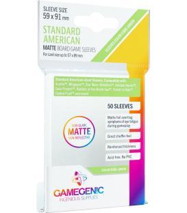Gamegenic: Matte Standard American Sleeves 59x91mm (50)