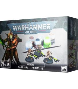 Warhammer 40,000 Necrons (Warriors + Paints Set)