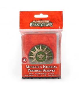 Warhammer Underworlds Beastgrave: Morgok's Krushas (Premium Sleeves)