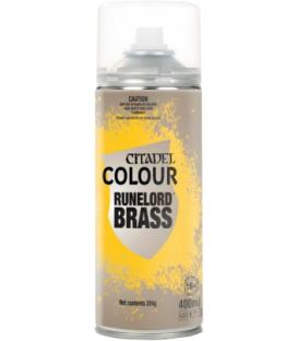 Spray de Imprimación Citadel: Runelord Brass