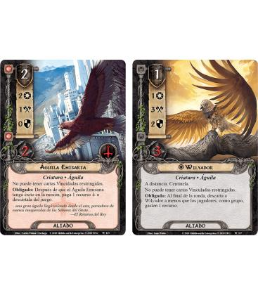 El Señor de los Anillos LCG: La Tierra del Pesar / La Venganza de Mordor 5