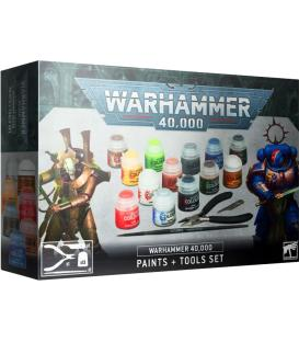 Warhammer 40,000: Paints + Tool Set