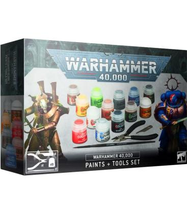 Warhammer 40,000: Paints + Tool Set