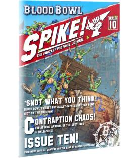 PREVENTA (29/08) - Blood Bowl: Spike! nº10 - The Fantasy Football Journal (Inglés)