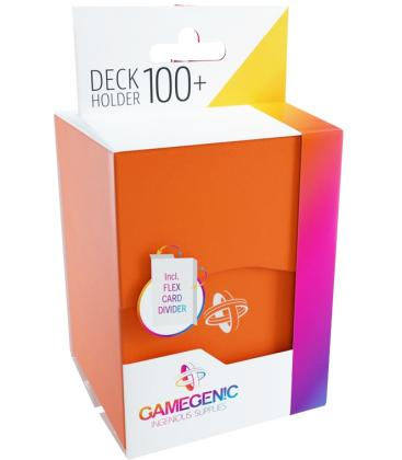 Gamegenic: Deck Holder 100+ (Naranja)