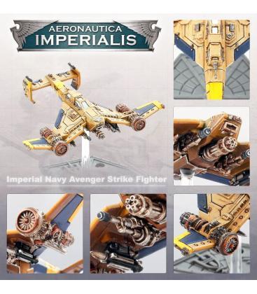 Aeronautica Imperialis: Imperial Navy (Avenger Strike Fighters)