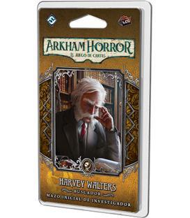 Arkham Horror LCG: Harvey Walters (Mazo de Investigador + su Marcador)