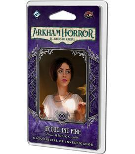 Arkham Horror LCG: Jacqueline Fine (Mazo de Investigador + su Marcador)