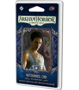 Arkham Horror LCG: Nathaniel Cho (Mazo de Investigador + su Marcador)