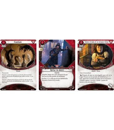 Arkham Horror LCG: Stella Clark (Mazo de Investigador + su Marcador)