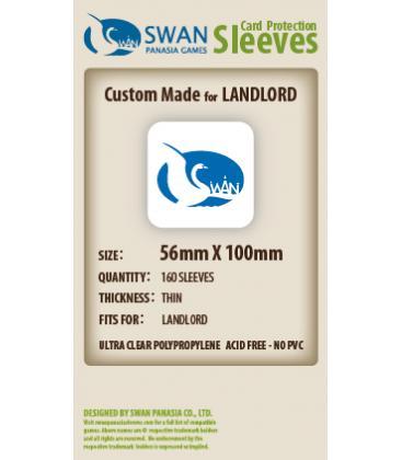 Fundas Swan Panasia (56x100mm) (160)