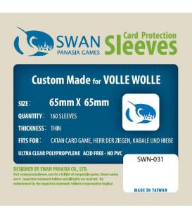 Fundas Thin Swan Panasia (65x65mm) (160)