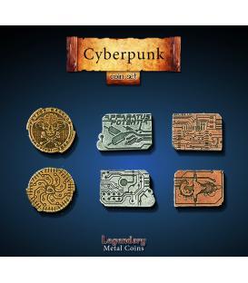 Legendary Metal Coins: Cyberpunk (24)
