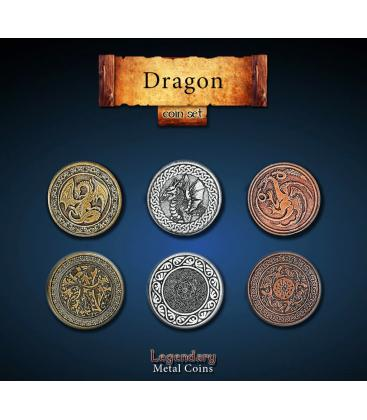 Legendary Metal Coins: Dragon (24)