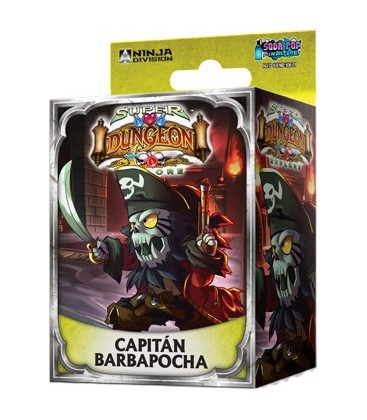 Super Dungeon Explore: Capitán Barbapocha
