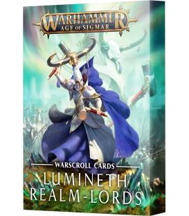 Warhammer Age of Sigmar: Lumineth Realm-Lords (Cartas de Hojas de Unidad)