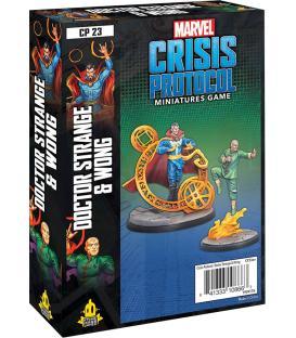 Marvel Crisis Protocol: Doctor Strange & Wong (Inglés)
