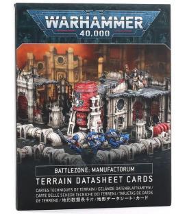 Warhammer 40,000: Battlezone Manufactorum (Tarjetas de Datos de Terreno)