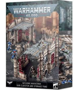 Warhammer 40,000: Battlezone Manufactorum (Sub-Cloister and Storage Fane)