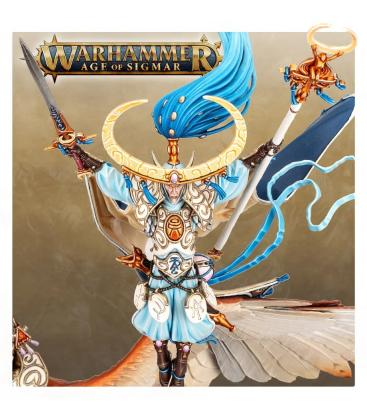 Warhammer Age of Sigmar: Lumineth Realm-Lords (Archmage Teclis and Celennar, Spirit of Hysh)