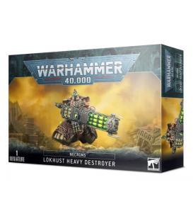 Warhammer 40.000: Necron (Destructor Pesado Lokhust)