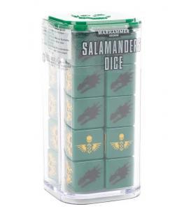 Warhammer 40.000: Salamanders Dice