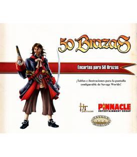 Savage Worlds: 50 Brazas (Encartes)