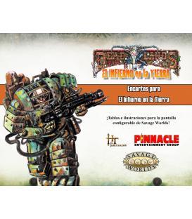 Savage Worlds: Deadlands: Infierno en la Tierra (Encartes)