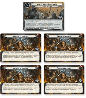 El Señor de los Anillos LCG: La Fortaleza de Nurn / La Venganza de Mordor 6