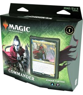Magic the Gathering: El Resurgir de Zendikar - Mazo Commander (Ataque Furtivo)