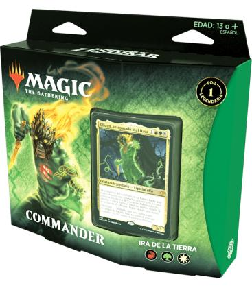 Magic the Gathering: El Resurgir de Zendikar - Mazo Commander (Ira de la Tierra)