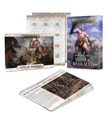 Warhammer Age of Sigmar: Sons of Behemat (Cartas de Hojas de Datos)