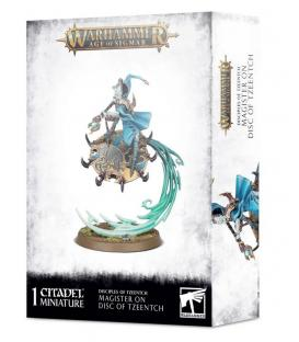 Warhammer Age of Sigmar: Disciples of Tzeentch (Magister on disc of Tzeentch)