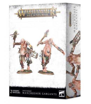 Warhammer Age of Sigmar: Sons of Behemat (Mancrusher Gargants)