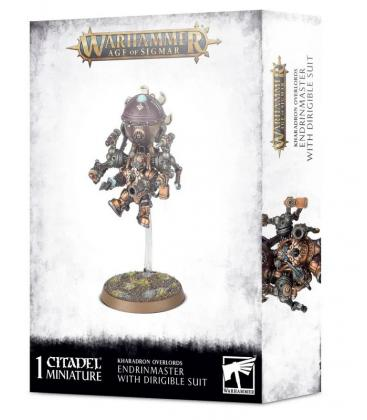 Warhammer Age of Sigmar: Kharadron Overlords Endrinmaster With Dirigible Suit