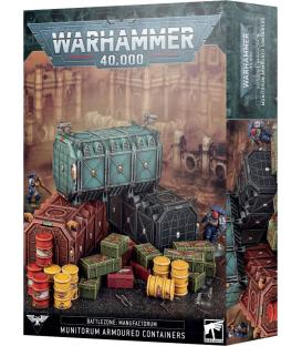 Warhammer 40,000: Battlezone Manufactorum (Munitorum Armoured Containers)