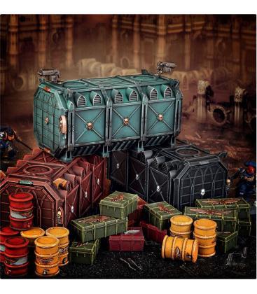 Warhammer 40,000: Battlezone Manufactorum (Munitorum Armoured Containers)