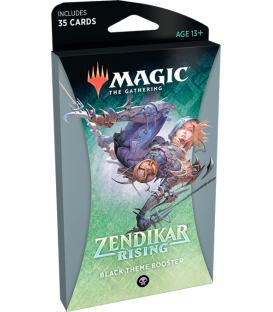 Magic: The Gathering - Zendikar Rising (Black Theme Booster) (Inglés)