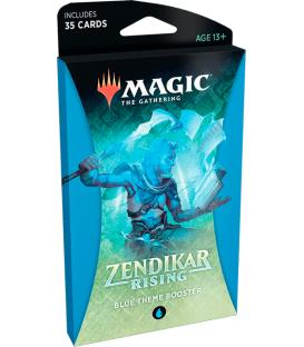 Magic: The Gathering - Zendikar Rising (Blue Theme Booster) (Inglés)