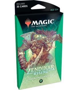 Magic: The Gathering - Zendikar Rising (Green Theme Booster) (Inglés)