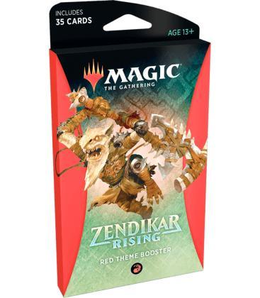 Magic: The Gathering - Zendikar Rising (Red Theme Booster)