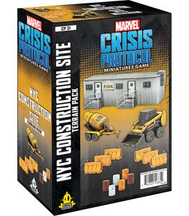 Marvel Crisis Protocol: NYC Construction Site Terrain